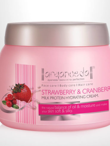 Strawberry & Cranberry Milk Protein Cream 400gm (Pack of 3)