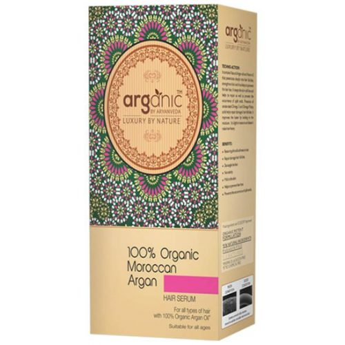 100 Organic Moroccan Argan Hair Serum