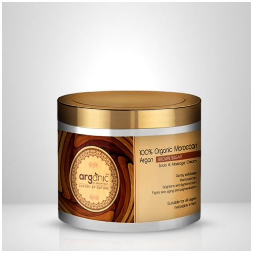 Organic Moroccan Argan Brown Sugar