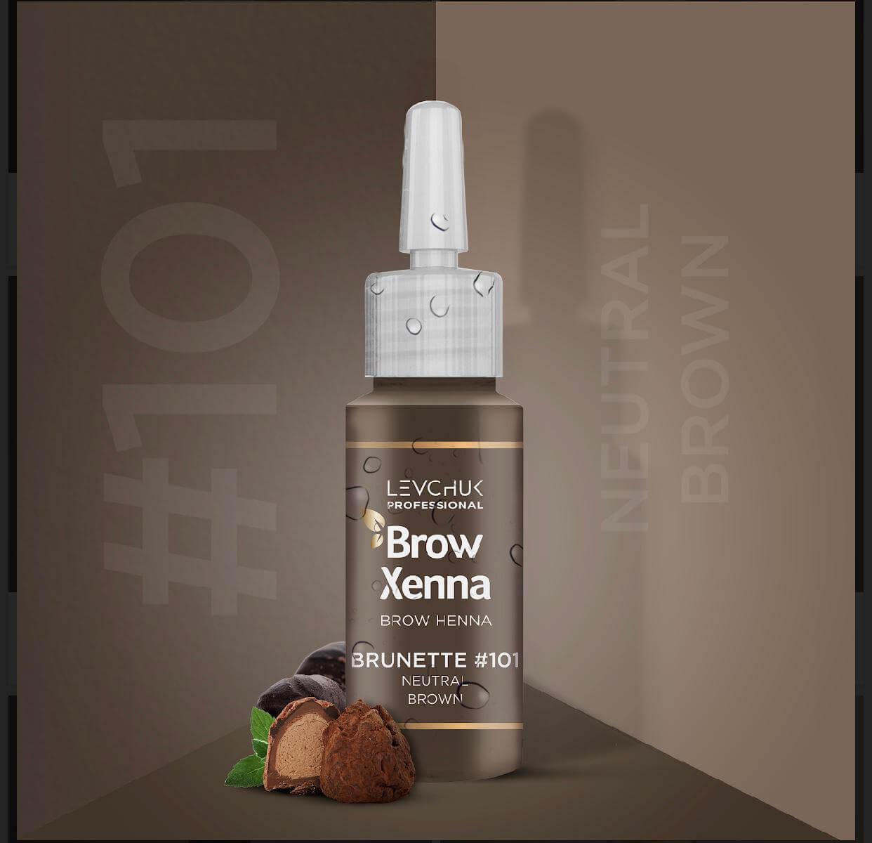 BrowXenna Brow Henna Neutral Brown 101